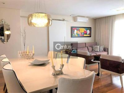 Apartamento À Venda No Edifício Majestic Todo Planejado 141 M² - Ap0195