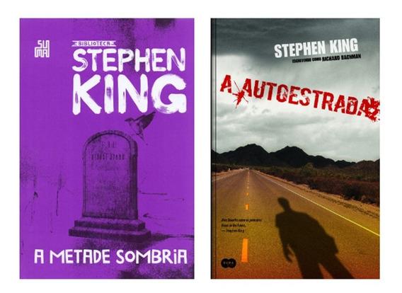 Livro A Metade Sombria + A Autoestrada - Stephen King