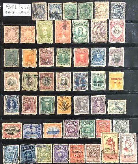 Estampillas Bolivia Antiguas Muy Alto Valor De Catálogo Leer