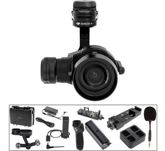Drone Dji Osmo Pro Kit Dji Zenmuse X5 Camera And 3-axis Gimb