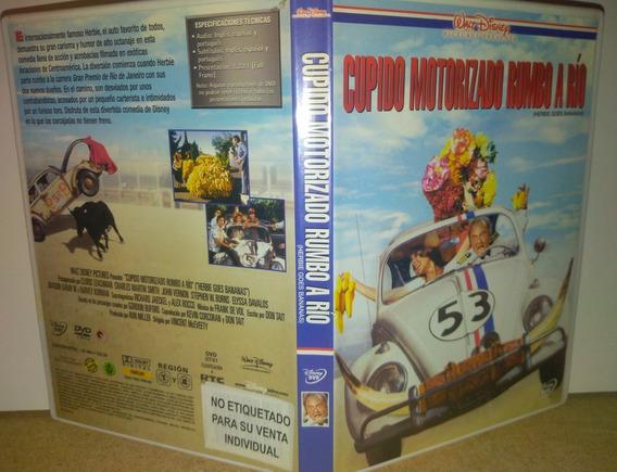 Cupido Motorizado Dvd Rumbo A Río Excelente Disney