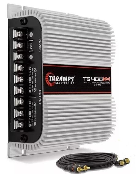Modulo Taramps Ts400 T400 X4 +cabo Rca