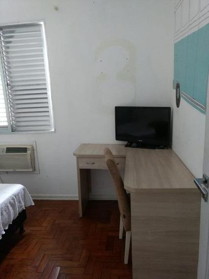 Apartamento Com 2 Dormitórios Para Alugar, 60 M² Por R$ 1.850/mês - Embaré - Santos/sp - Ap7638