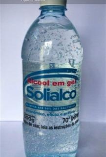 Alcool Em Gel 500g - 2 Unidades