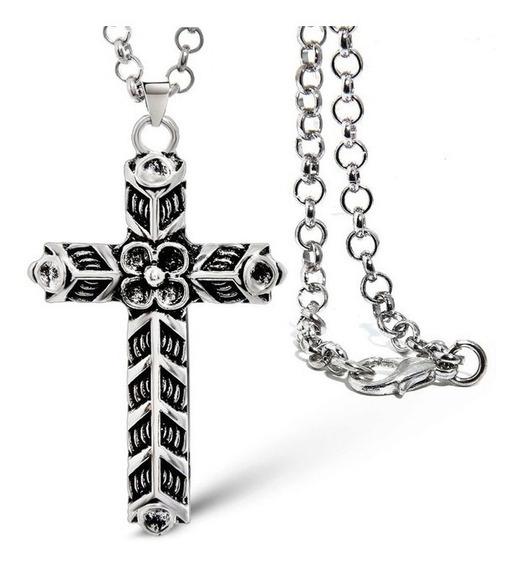 Cruz Collar De Ragnar Lothbrok Athelstan Vikinga Lagertha