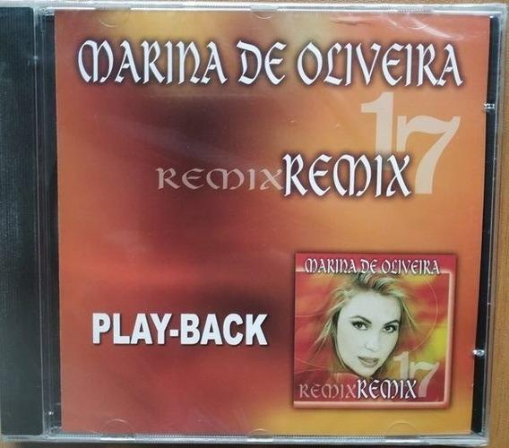 Cd Marina De Oliveira Remix Playback