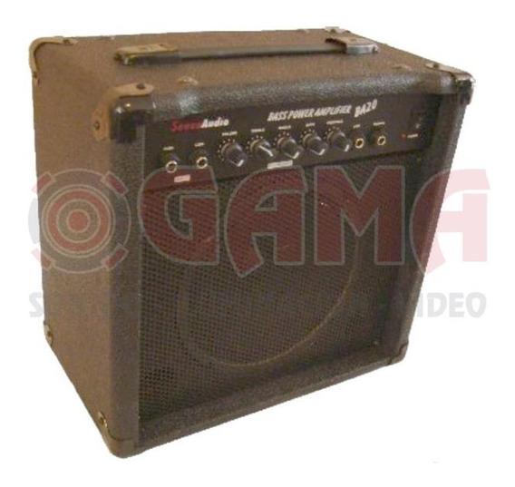 Combo Amplificador Bajo 120w 8 Ba20 Senon 15000300
