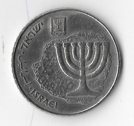 !!! Moneda Israel 100 Sheqalim 1985 Menora Hebreo !!!