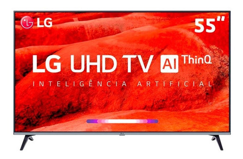 "Tv 55"" Led LG 4k - Ultra Hd Smart - 55um7520"