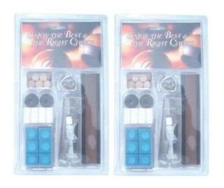 Accesorios Billar Deluxe Kit Reparacion Puntas Taco Billar