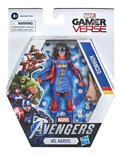 Avengers Boneco Ms. Marvel Marvel Gamer Verse Hasbro