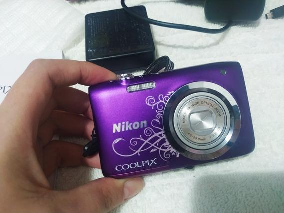 Camera Fotografica Nikon Semi Nova