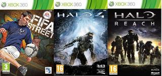 Fifa Street, Halo 4, Halo Reach Xbox 360 Original