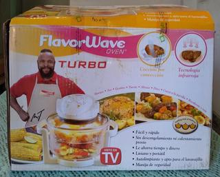Horno De Aire Convector Flavorwave Turbo Oven