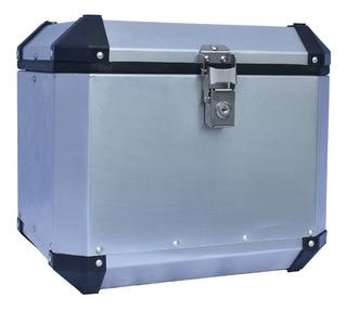 Top Case Aluminio 2mm De Grosor 48lts Universal De Uso Rudo