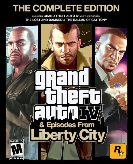 Grand Theft Auto Iv Complete Edition Steam Cd Key Original