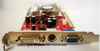 Tarjeta De Video Pci 128mb Ati Radeon 9250