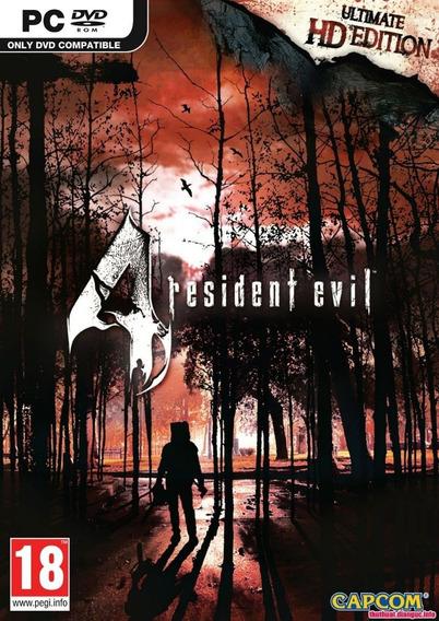 Resident Evil 4 Ultimate Hd Edition Pc Frete Gratis