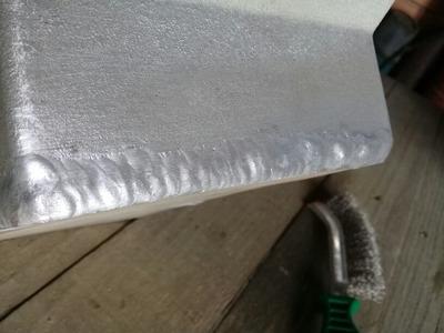 Solda Em Tig Em Aluminio Prestação De Serviços