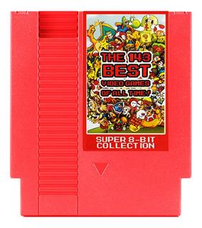 Cartucho De Videojuegos Nes 143 En 1, 8 Bit, 72 Pin