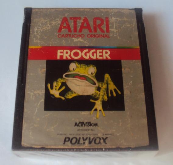 Cartucho Frogger - Polyvox Para Atari 2600