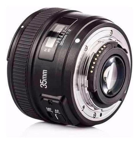 Lente Yongnuo 35mm F2 - P/ Nikon