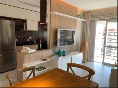 Apartamento Com 2 Dormitórios À Venda, 80 M² Por R$ 850.000 - Gonzaga - Santos/sp - Ap0237