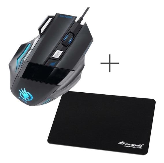 Kit Acessorios De Informatica Com Mauser E Mouse Pad Barato