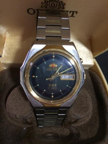 Relógio Orient Quartz 21 Jewels Raro