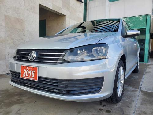 Imagen 1 de 14 de Volkswagen Vento 2016 1.6 Confortline Mt