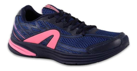 Tenis Rainha Evolution Marinho/rosa
