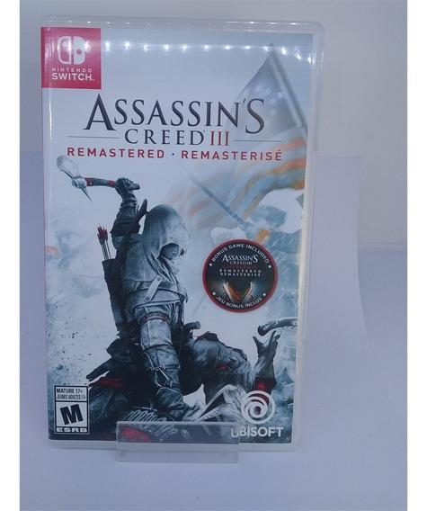 Assassins Creed Iii: Remastered (seminovo) - Switch