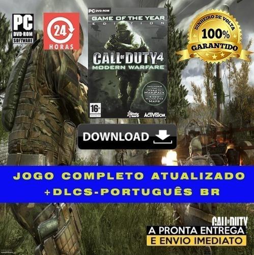 Call Of Duty 4: Modern Warfare + Brinde - Português Br
