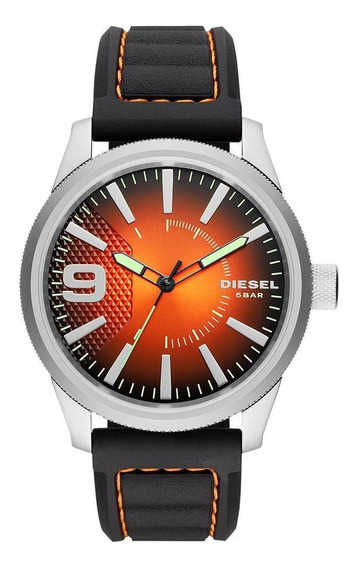 Relógio Diesel Masculino Rasp Nsbb Prata - Dz1858/0mn
