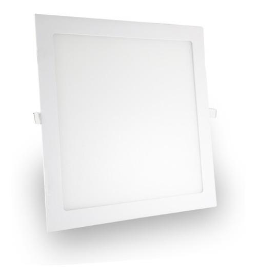 Painel Plafon Luminária Quadrado Embutir 18w