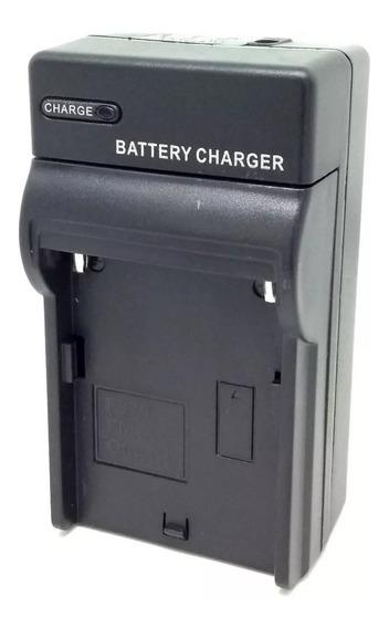Carregador P/ Bateria Padrão Sony Np-f550 570 F970 Bivolt