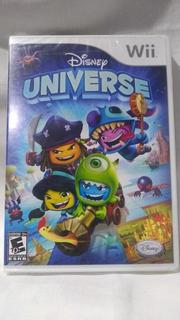 Disney Universe - Nuevo Y Sellado - Wii
