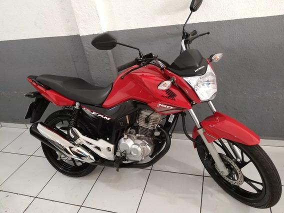 Honda Fan 160 2019 Vermelha