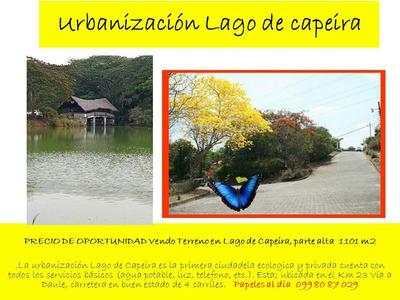 Urbanizacion Lago De Capeira Vendo O Cambio Por Terreno Pequ