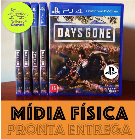 Days Gone Ps4 Midia Física Lacrado Novo Com Nota Fiscal