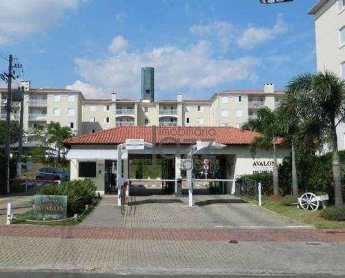 Apartamento Com 3 Dormitórios À Venda, 55 M² Por R$ 400.000,00 - Condomínio Avalon - Hortolândia/sp - Ap5651
