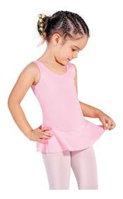 Collant Regata Novo - Ballet Dança - Capezio Infantil Rosa