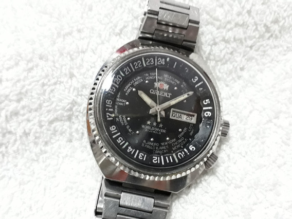 Relógio Orient Wd, O Cebolão Automático (prt) !