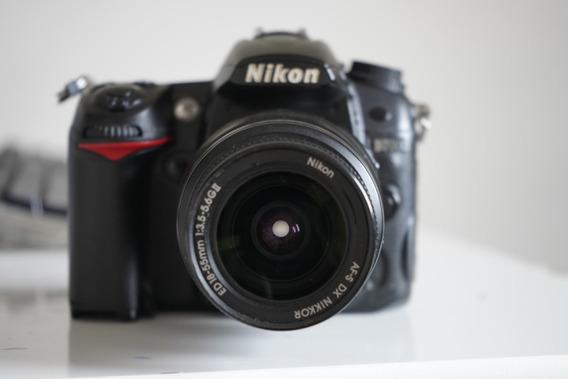 Nikon D7000 Com Lente 18-55mm
