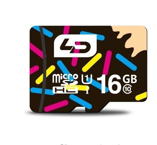 Cartão Micro Sd De 16gb Original Classe 10 Da Ld