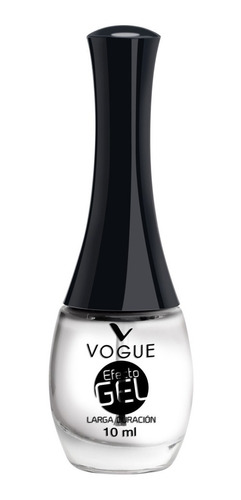 Imagen 1 de 1 de Esmalte Top Coat Brillo Gel Vogue