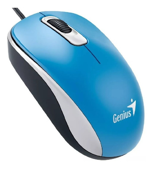 Mouse Genius Dx 110 Usb Optico Varios Colores