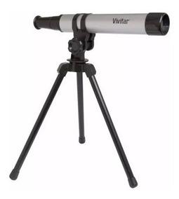 Telescopio Portatil Com Tripe Vivtel30300