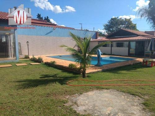 Imagem 1 de 28 de Chácara Com 3 Dormitórios À Venda, 1040 M² Por R$ 455.000 - Rural - Tuiuti/sp - Ch0260