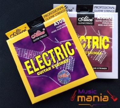 Cuerdas Guitarra Electrica Alice Calibre 009 O 010 Rematando